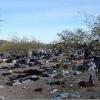 Swaths of Litter Left by Illegal Aliens entering AZ - 06