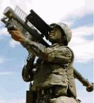 US Soldier With FIM-92 Stinger