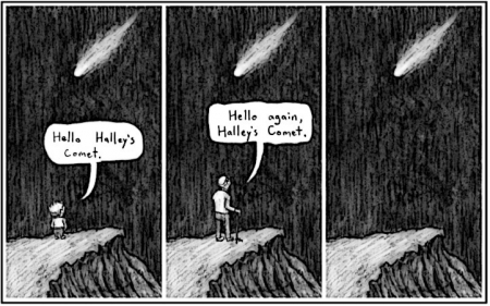 Halleys Comet & Mortality