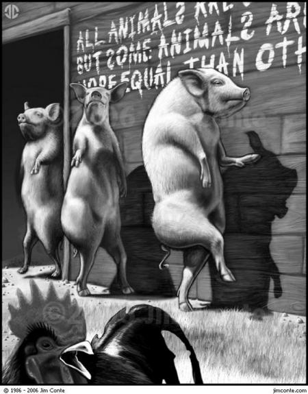 The Animal Farm Pigs