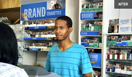 FDA Approved Cigarette Display