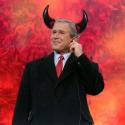 Bush as Satan