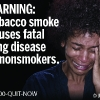 FDA & HHS Anti-Tobacco Warning - 08