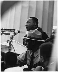 Dr. Martin Luther King Jr. Delivering his famous �I Have a Dream Speech� on August 28, 1963