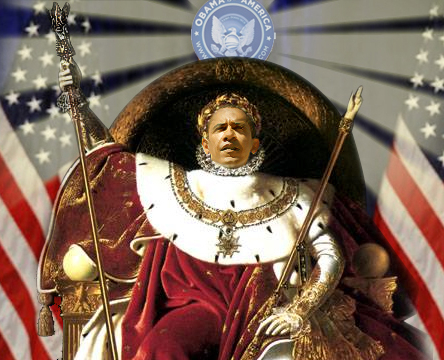Napoleon Obamaparte Crowned