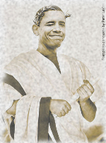 Caesar Obama - Original Art by Peter LaVigna