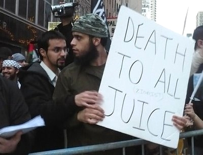 Death To All Juice - illiterate, funny, but still potentially dangerous Islamist