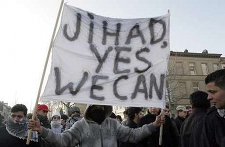 Jihad, Yes We Can - Obama a brand with reach too far