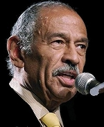 Rep. John Conyers (D-MI) - Just another bitter Black trying to extort a handout from Americans