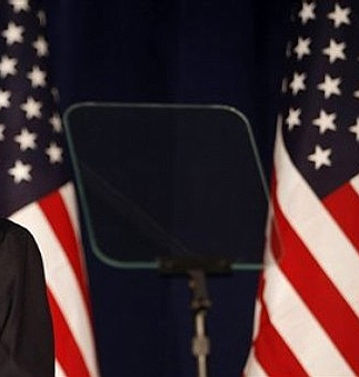 Obama the Teleprompter, 44th President of the US