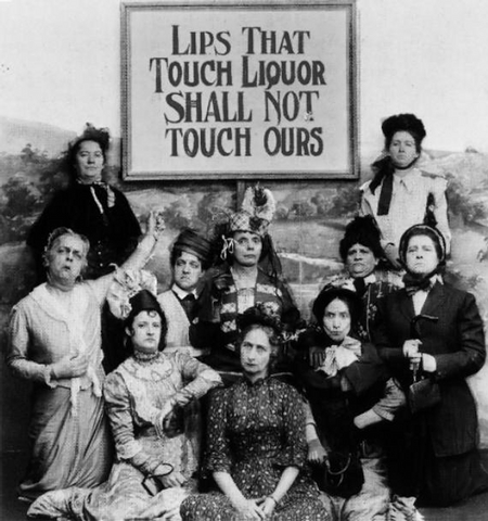 prohibitionists - why men drink