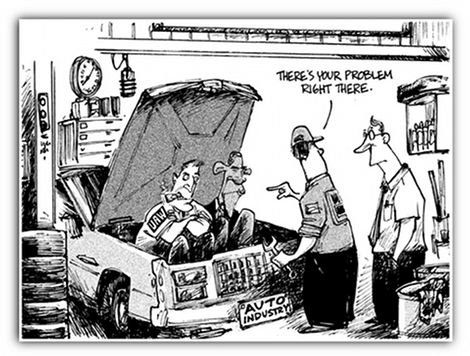 Car Trouble - Obama and UAW wreck US autos