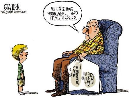 Jeff Stahler - When I Was Your Age...