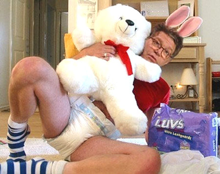Senator Al Franken (D-MN) in Diapers