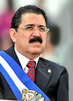 Manuel Zelaya - ousted Leftist would-be  dictator of Honduras