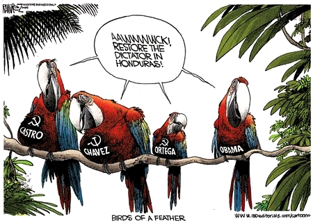 Obama, Castro, Chavez, Ortega, - Birds of a Feather