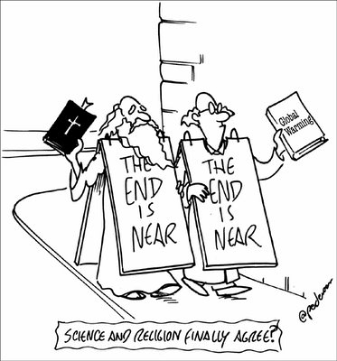 Science & Religion Agree; the End is Near!