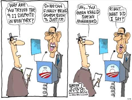 Obama: So We Can Finally Bring George Bush To Justice - Glenn McCoy