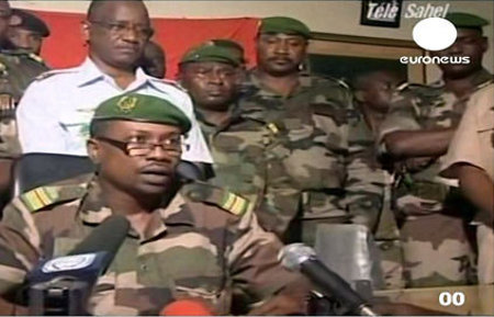 Colonel Karimou of Niger's CSRD