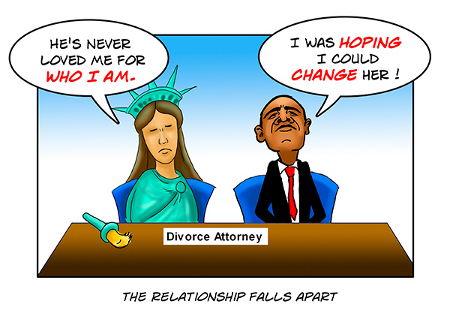 An American Divorce - Irreconcilable Differences from Draw For Truth