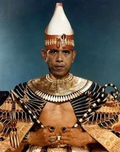 Obama The Pharaoh - Every son that is born you shall cast into the river!