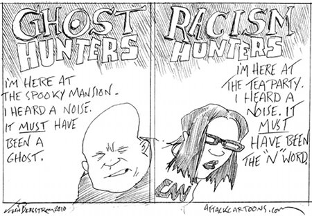"First There Was ""Ghost Hunters;"" Not there is ""Racism Hunters"""