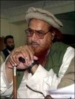 Hafiz Muhammad Saeed, leader of the Islamist Terrorist group, Jama'at-ud-Da'wah (JuD)