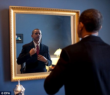 President Obama - Narcissism and Self Adoration are his watchwords