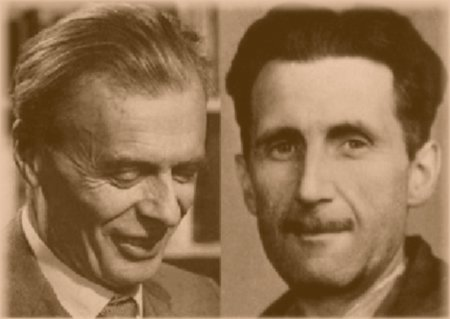 the books of aldous huxley and george orwell on the future of our society Get instant access to all your favorite books  programming, and media-has aldous huxley accurately predicted our future  george orwell depicts a gray,.