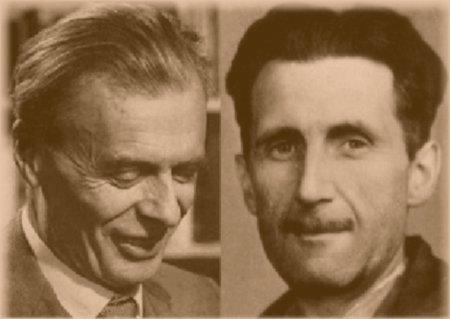 Aldous Huxley v. George Orwell - Divergent Distopian Predictions