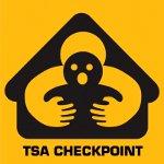 TSA Checkpoint - Spoofed Signage