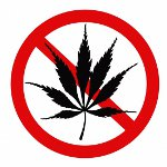 No Marijuana Logo