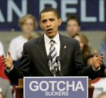 Obama - Gotcha Suckers - Shucking and Jiving in the hopes of re-election