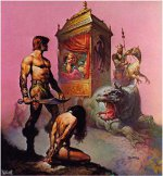 Tarnsman of Gor - Frazetta Cover Art