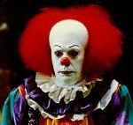 Grim Clown Is Not Amused
