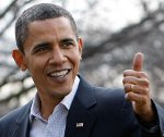 Obama - Thumbs Up