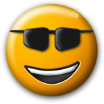Big Smiley with Sunglasses