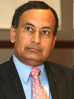 Pakistani Embassador to America - Hussain Haqqani - Just Another Jabbering Raghead Jihadi Who Should Be Exterminated