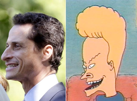 Weiner's Actions Explained: Weiner Is Beavis!
