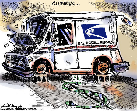 USPS - Broke-Down and Stripped