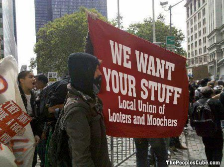 We Want Your Stuff - Union Of Looters And Moochers