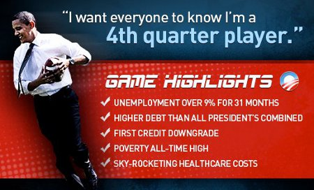 Obama a 4th Quarter  Playa, not Player