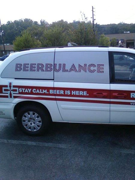 Beerbulance - Stay calm. Beer Is Here