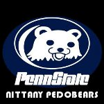 New Penn State Logo - The Nittany Pedobears