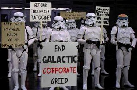#occupytheforce