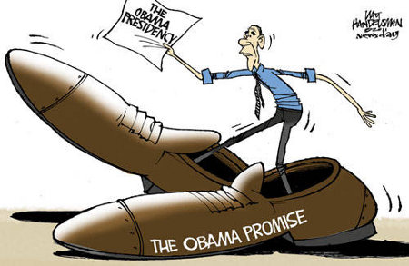 The Obama Promise vs. The Obama Presidency