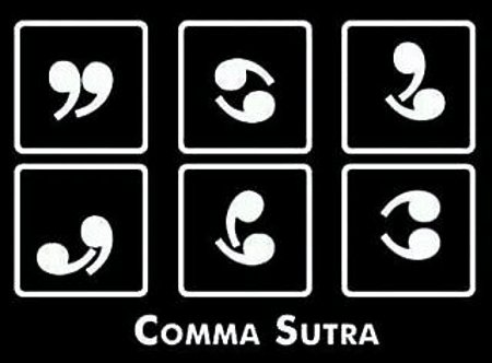 Punctuating Pleasure - Comma Sutra