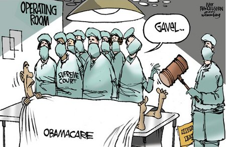 Obamacare Under The Knife