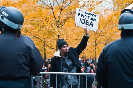 Portrait Of An Idiot - OWS at its self-absorbed, histrionic finest