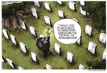 Obama Apologizes To Afghani Vermin